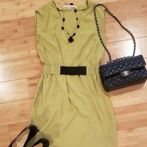 Cute Rachel Roy Green Size 6 Dress